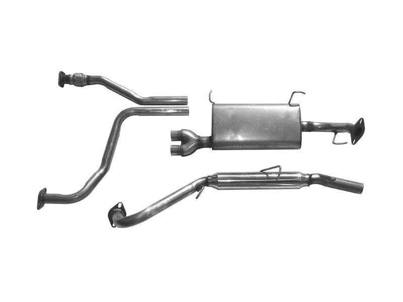 Muffler Exhaust system Kit fits 2006-2007 Murano 3.5L 6 cyl